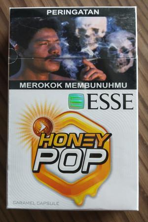 Rokok Esse Honey Pop Caramel Capsule 16