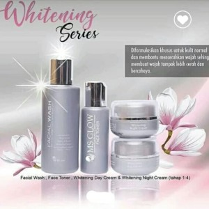 Paket cream MS glowing whitening