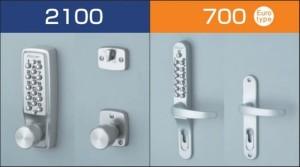 Kunci pintu keyless Keylex Mechanical Lockset 700 series