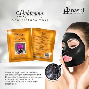 Masker wajah Naturgo/NATURGO BPOM/HANASUI NATURGO/MASKER[book]