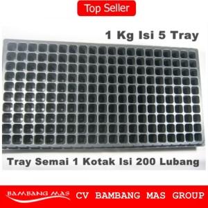 Tray Semai / Bibit Untuk Benih Tanaman (Bentuk Kotak kecil - kecil)