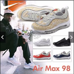huge selection of 02a31 23e36 Jual ORI CINA Sepatu Sneakers Desain Nike Supreme X Nike Lab Air Max 98 -  Jakarta Timur - Jack TEAM Store   Tokopedia