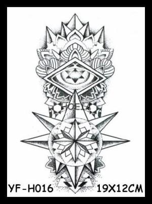 Jual Yfh016 Temporary Tattoo Bali Tato Bali Illuminati Jakarta Barat Rikzan Store Id Tokopedia