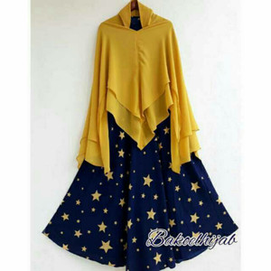 Star Syari Navy Yellow