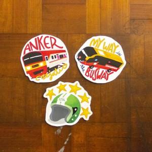 Angkut Series: Commuter Life - Stiker