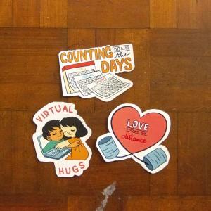 Long Distance Relationship - Stiker