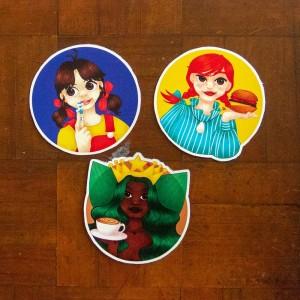 Mascot Girls - Stiker