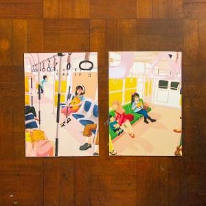 Angkut Series: Interior - Art Print