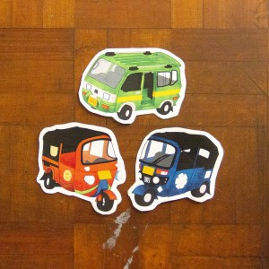 Angkut Series: Jadul - Stiker