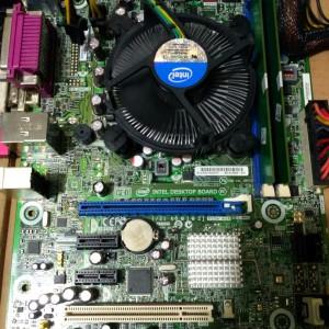 Mainboard intel + i7-3770