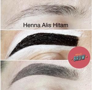 Jual Hello Brow Henna Alis Warna Hitam Henna Saja Kab Tangerang Hellobrow Id Tokopedia