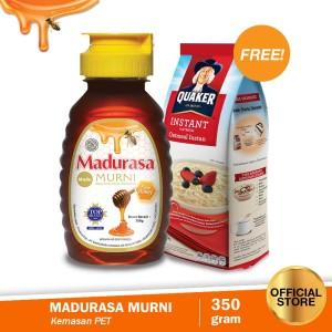 Buy Madurasa Madu Murni 350Gr Free Quaker Oatmeal Small Pack 200G
