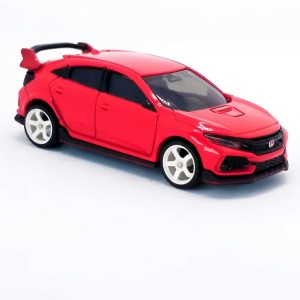 Tomica Honda civic merah 58 custom