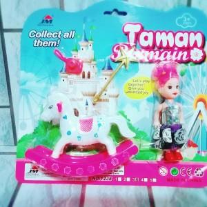 Mainan Taman Bermain Kuda Goyang