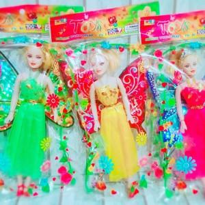 Mainan Boneka Barbie Sayap Peri