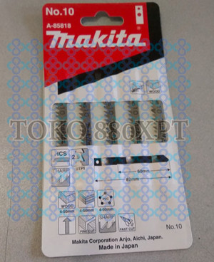 Mata Gergaji Jig saw Blade Makita no. 10