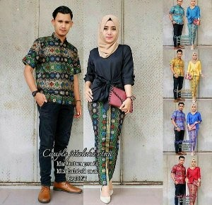 Jual Couple Cantik Baju Batik Baju Kondangan Pakaian Kebaya Kota Surakarta Afda Collection Tokopedia