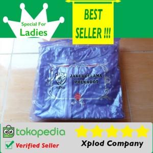 Jas Hujan Untuk Wanita Ibex Polkadot Raincoat for Ladies Warna Ungu