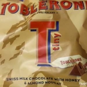 COKLAT TOBLERONE TINY 200GRM