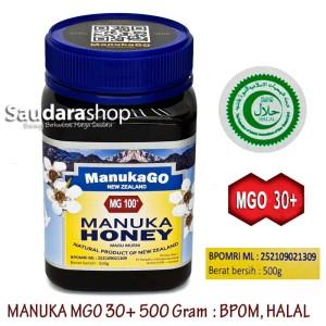 Manukago / Manuka Honey MG 100+ 500gr / Madu Manuka Original 500gram