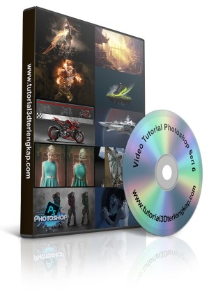 Video Tutorial Mastering Photoshop Profesional Seri 6