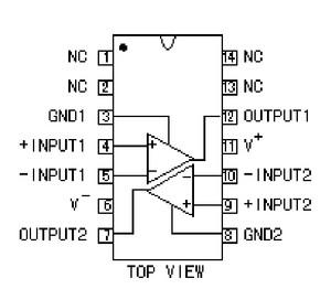 Lm319d Dual Voltage Comparador