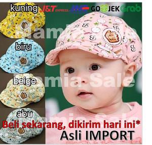 Topi Bayi Baby Hat Topi Pet Baseball Anak Keren Lucu