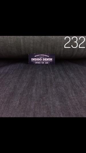 232 - Denim Blue Black Non Strech Tebal 10oz Panjang 1.7 mtr