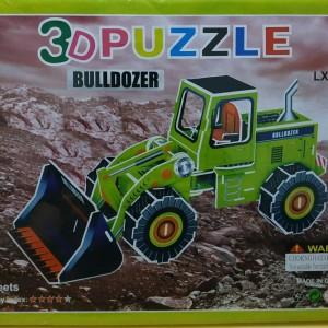3D puzzle mainan anak edukatif