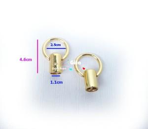 (2pcs) Ring Lonceng Gold Tebal