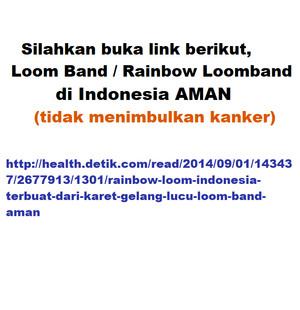 Jual Rainbowloom Loomband Loombands Red Dr Pure Crystal X Temulawak Lotion Kota Surabaya King Shops Tokopedia