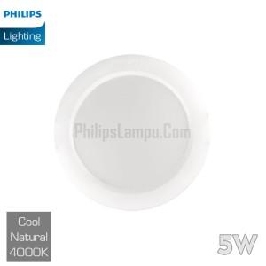 Lampu Downlight LED Philips 5W 59261 Eridani Cool White Natural
