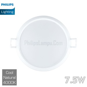 Lampu Downlight LED Philips 7,5W 59262 Eridani 7.5w Cool White Natural
