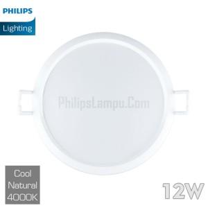 Lampu Downlight LED Philips 12W 59264 Eridani 12 W Cool White Natural