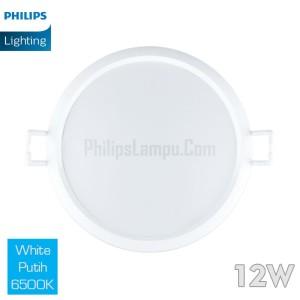 Lampu Downlight LED Philips 12W 59264 Eridani 12 W White Putih