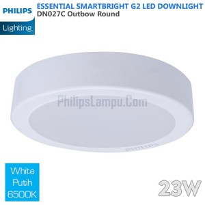 Lampu Downlight LED Outbow Philips 23W DN027C 23 W White Putih