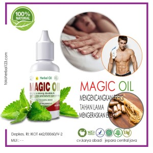 Magic Oil - Obat Oles Herbal Mengatasi Disfungsiereksi
