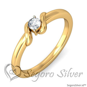 Cincin Nikah Single Perak Original Silver