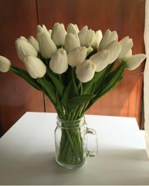 Jual Diskon Besar Bunga Tulip Artificial Putih Atau Pink Berkualitas Jakarta Pusat Anggraeni 6768 Tokopedia