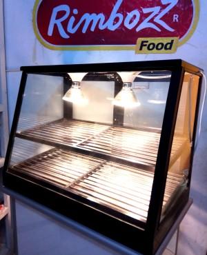 Food warmer WARNA HITAM hotsnack display penghangat makanan -MEDIUM