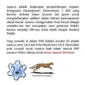 Jual DVD koleksi instaler LAZARUS IDE 1 8 4 - Kota Kediri - cedev |  Tokopedia