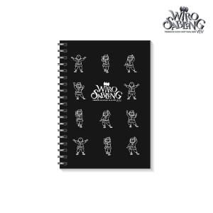 A6 Spiral Blank Notebook Buku Notes Book Catatan Polos Wiro Sableng
