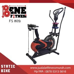 Sepeda Statis Alat Fitness FS 802i orbitrek 6F olahraga fitnes speda