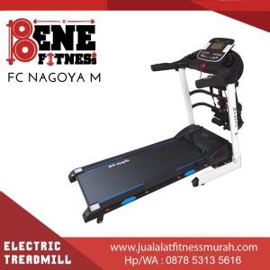 Treadmill elektrik lari alat fitness FC NAGOYA 4FUNGSI olahraga fitnes