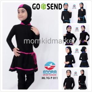 Baju Renang Anak SD Muslim Muslimah Ukuran M, L dan XL ML-TG-P-001 - Baju Renang
