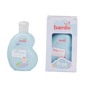 Bambi Hair Lotion + Baby Oil