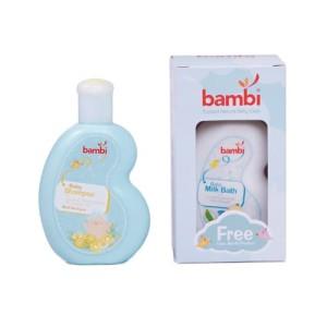Bambi Shampoo + Milk Bath