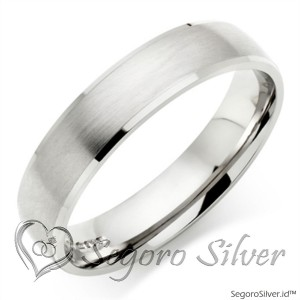 Cincin Perak Cincin Tunangan 950 Original