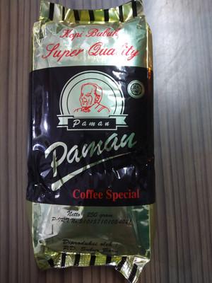 Kopi Paman 250 gram - khas Jambi