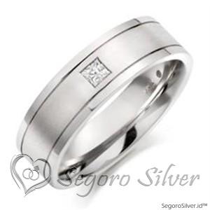 Cincin Tunangan Perak Original Silver 950